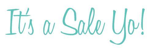 It's a sale