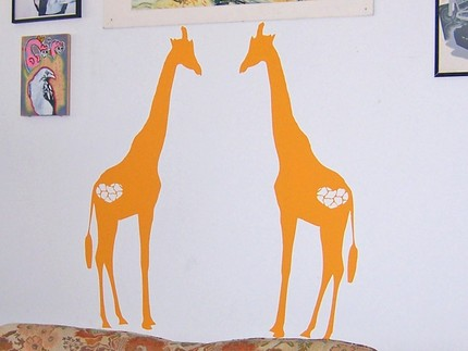 Giraffe_wall_decals
